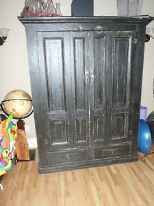 TV entertainment unit (or Armoire ) - REDUCED