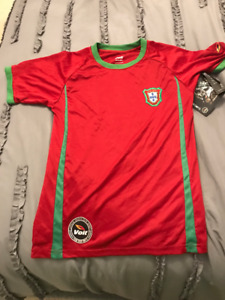 PORTUGAL VOLT OFFICIAL WORLD CUP YOUTH SOCCER JERSEY!