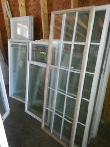 New 34 & 36 inch steel door &  new window kits for doors Truro