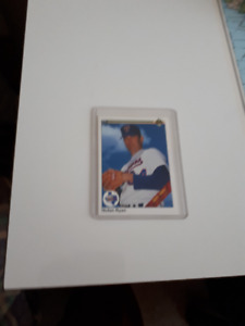 Hall of Famer Nolan Ryan 300th Win Card -- Upper Deck -- 1990