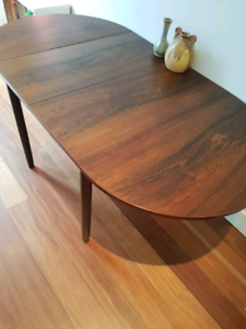 Danish Brazilian rosewood dining table