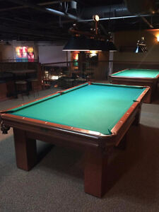 Used 9' Pool tables