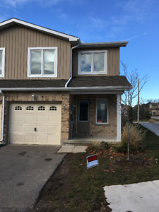 Great  3 Br 2.5 washroom large end unit townhouse in great n