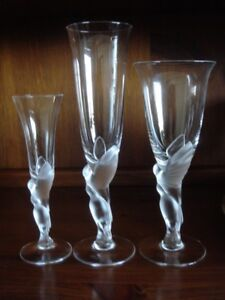 House of Faberge Fine Crystal Glasses - Franklin Mint Issue