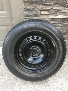 General Altimax Artic Winter Tires and Rims - 235 65 R17