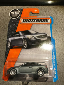 MatchBox Infiniti G37S Coupe Grey