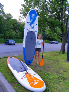 2 PADDLE BOARDS (INFLATABLE)