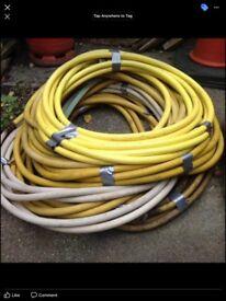 Compressor hoses assorted sizes joblot