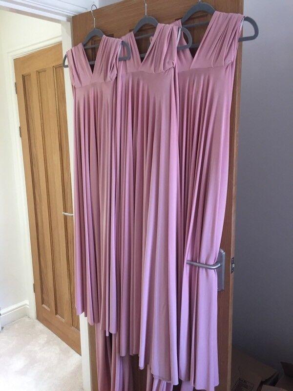 Two birds bridesmaid dresses in blush x3 | in Bishopsworth, Bristol ...