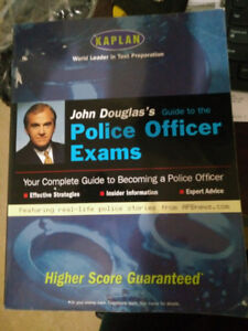 Police officer Exams book by KAPLAN