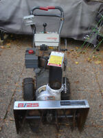 Snowblower Sears 8/25