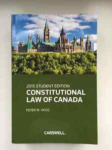 Used Constitutional Law of Canada Book (2015)