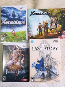 Wii Xenoblade Chronicles, Pandora's Tower, The Last Story LE