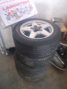 camaro rims and tires