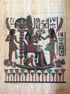 Great gift idea for xmas? Egyptian paintings on Papyrus