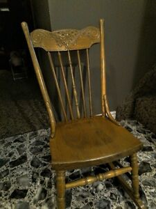 Antique nursing style low rocker!