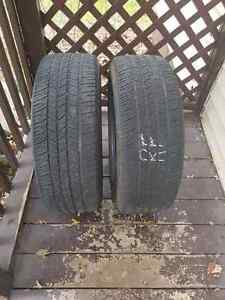 Selling one pair of tires.