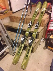 *Must Go ASAP* Downhill skis + poles + boots + bag