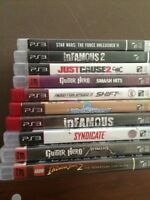 10 PS3 games 40$  (need gone)