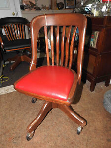 office chairs antique from 1940 to 1950's fully restored Oakville / Halton Region Toronto (GTA) image 2