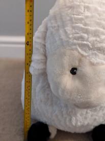 Large sheep teddy