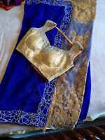 SAREES WITH READY MADE BLOUSE (Size 10-12)