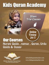 High qualified Quran and Urdu and islamic studies teacher