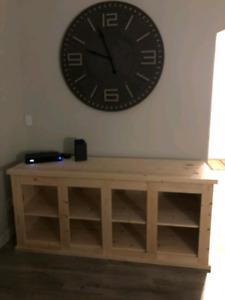 Home made hutch/TV stand