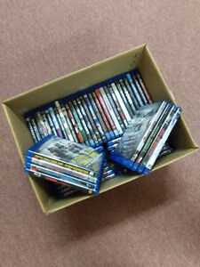 Box of 53 Blu-ray!  Take the entire box for only $80.00!!