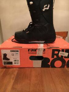 New Adult Size 13 snowboard boots