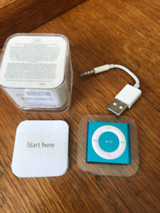 BRAND NEW 4th Generation 2 Gig iPod Shuffle (Blue)