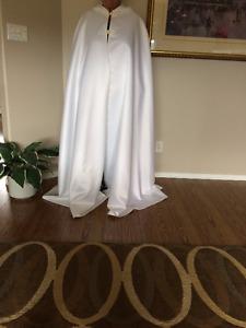 Bridal Full length cape