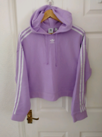 Adidas high waist Hoodie New.