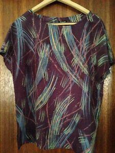 Silk summer shirt