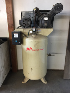 Ingersoll Rand Air Compressor with 7.5hp Pump