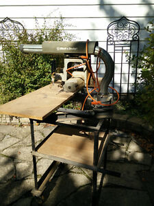 Radial arm saw and stand