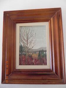 Original painting & Book  code 01 West Island Greater Montréal image 1