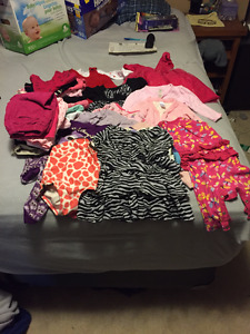 Box of Girls Clothing Age 6-12 Months #2