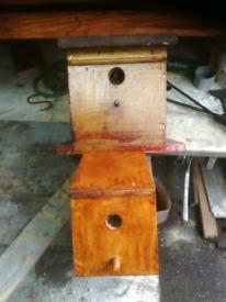 Various bird boxes