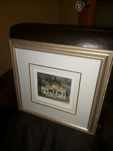 Group of seven print (Country store)