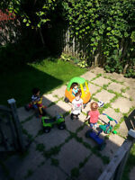 Subsidized 7.30 $ per day Home Daycare in Cote St Luc