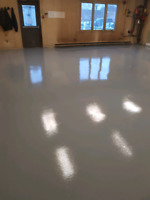 Concrete Refinishing and epoxy