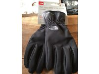 The North Face Insulated Apex Men's Asphalt Grey Gloves LARGE