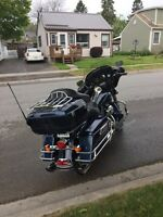 2013 HD Electra Glide Classic, Blue Harley Davidson