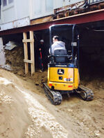 Mini Excavators & Skidsteers Experienced Operators great prices