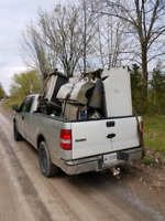 Scrap metal pick up and junk removal service