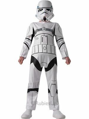 er Star Wars Rebels Child Boys Fancy Dress Halloween Costume (Halloween-kostüm Stormtrooper)
