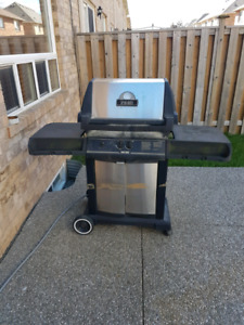 Broilmate Gas line Barbecue