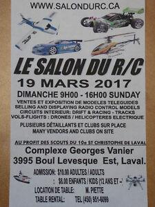 LE SALON DU R/C #2 DIMANCHE 19 MARS 2017, A LAVAL  LE PLUS GRAND