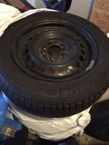 GENTLY USED WINTER TIRES